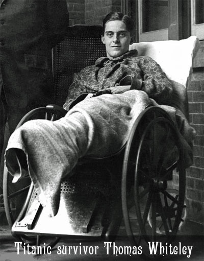Phillips, the first Marconi operator aboard the Titanic, stuck to his post until the last, jumped from the sinking ship, was taken aboard life raft & died before rescuers reached him. According to the story told by Thomas Whiteley, who was a waiter on the Titanic. Phillips was on the overturned lifeboat with me. He was dead & taken aboard the Carpathia. They tried to revive him, but it was too late. There were four burials at sea-one sailor, two firemen, & Phillips.
