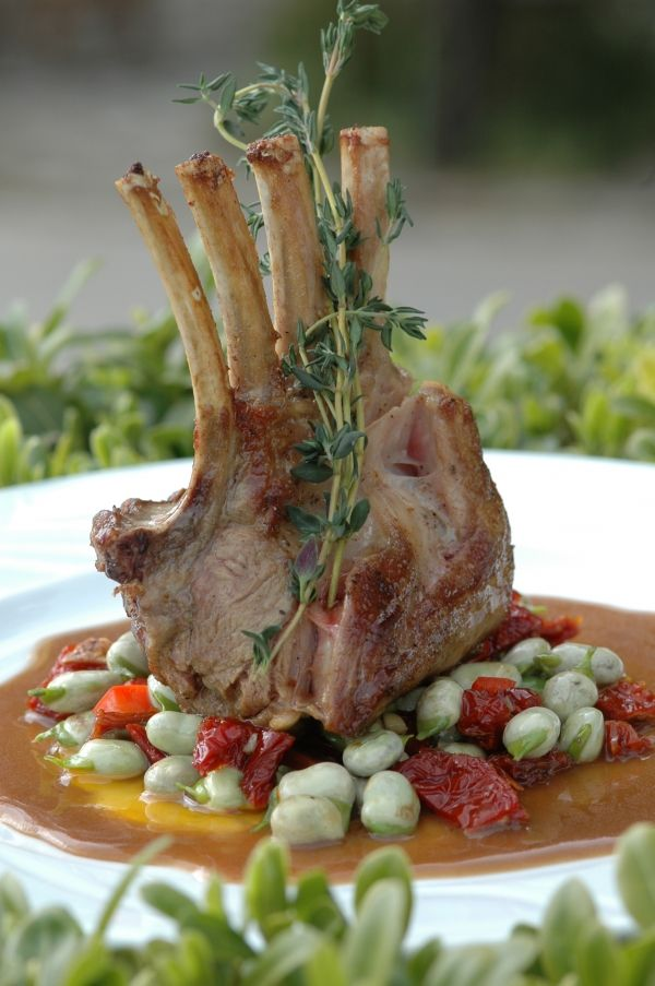 Definitely will keep this in mind, as I cook Lamb Chops often---Lamb chop on breadbean