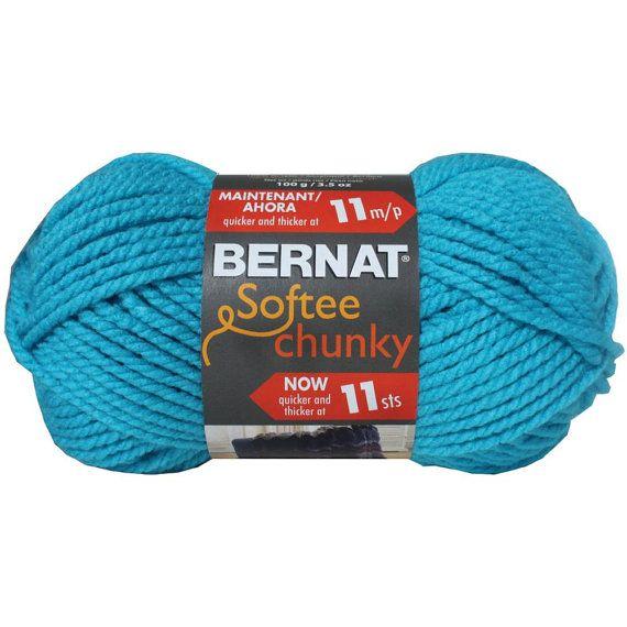 Bernat Softee Chunky Yarn in Ultra Blue by ...