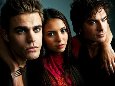 Yes I watch the vampire diaries... I'm a little bit obsessed with it. It's probably fine.