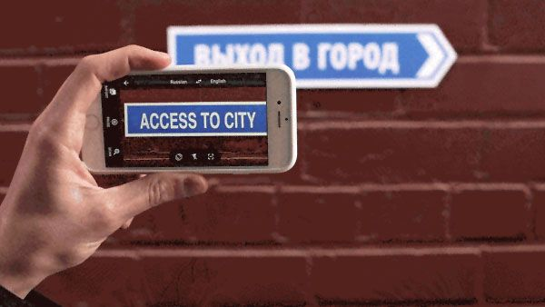 Google's Translate App Can Now Use Your Camera to Translate the World in Real Time
