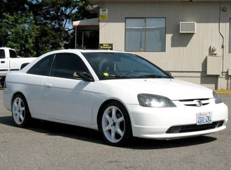 2002 Honda Civic EX sports coupe — $5995 http://www.autopten.com/honda/civic/forsale/wa/5128/