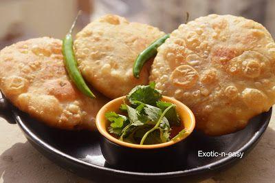 exotic-n-easy cooking: Moong Dal Kachori