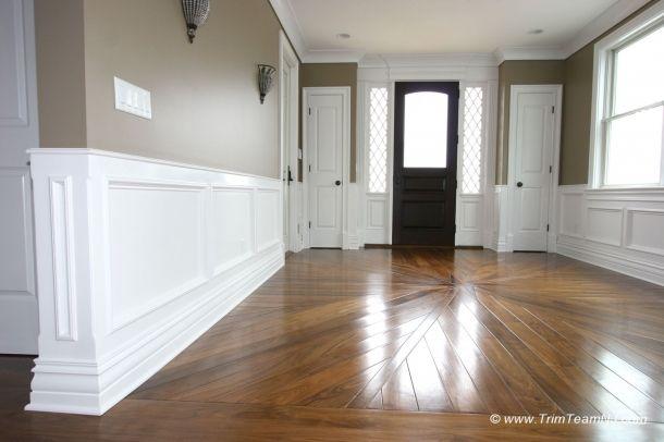 Foyer Flooring Nj : Panels in foyer sea bright nj picture