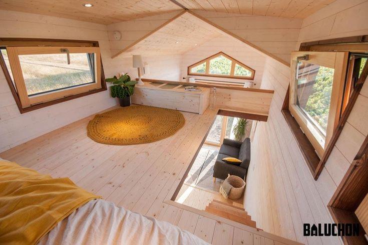 "6m ""Epona"" Tiny Home on Wheels by Tiny House Baluchon"