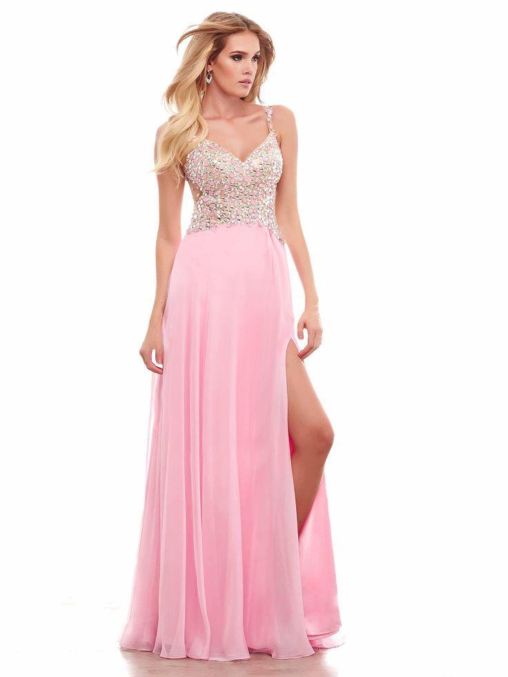 #babydoll #pinkdress #amazingdress / Cukierkowa suknia wieczorowa w kolorze różowym.