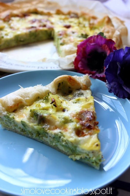 love cooking: Torta salata ai broccoli e gorgonzola