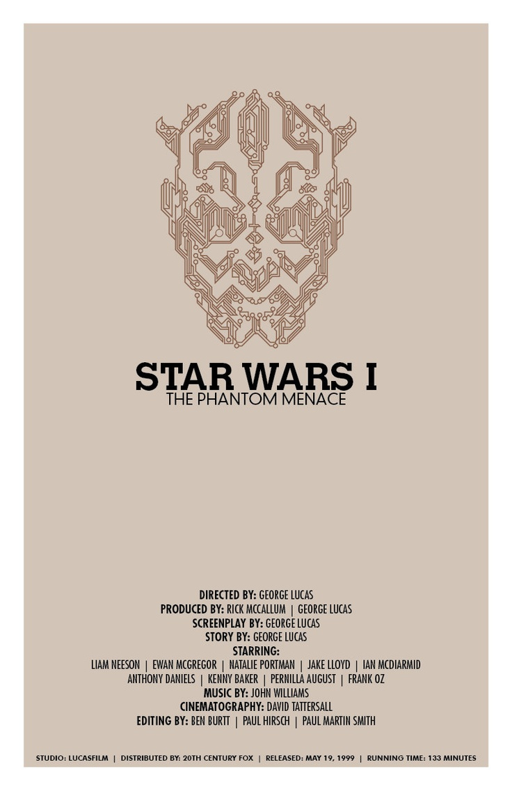 Star Wars New Trilogy Set  Created by Christian Petersen / The Geekographe