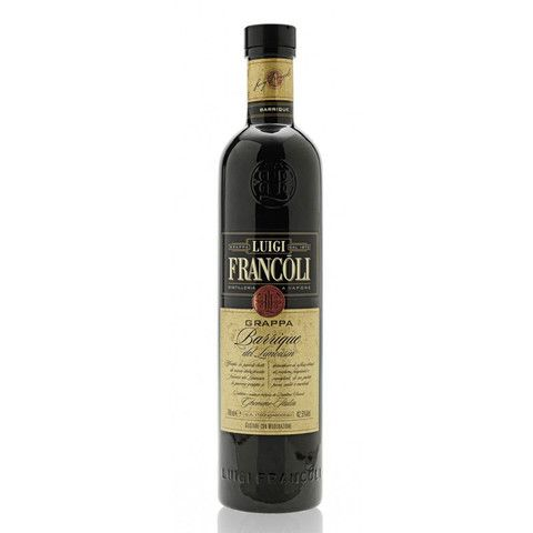 Get Luigi Francoli Barrique del Limousin Grappa 43%, 700ml at just  NZD62.99 from Liquor Mart, this is an online liquor store in New Zealand   #Wine