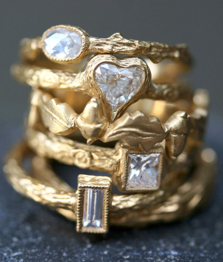 Cathy Waterman Rings I want them all!! X