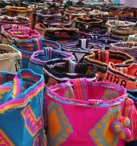 Tejidos Wayuu, Colombia