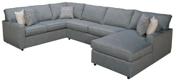 Rowe Monaco Rowe Monaco 3 Piece Sectional Jordan S Furniture 3 Piece Sectional Sectional Furniture