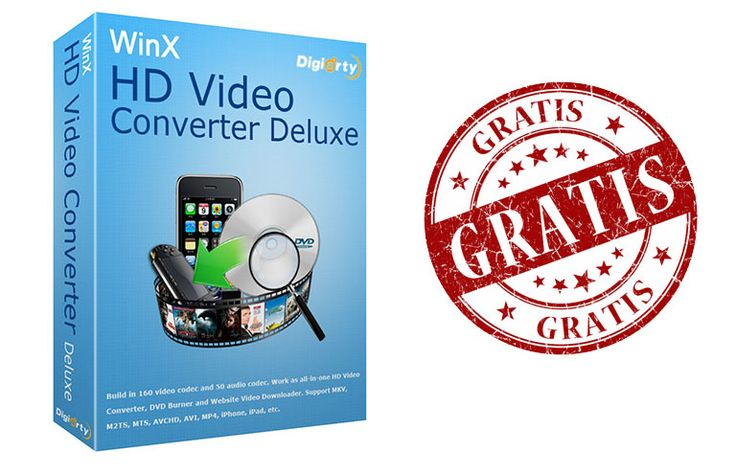 Obtén Licencia de WinX HD Video Converter Deluxe Gratis