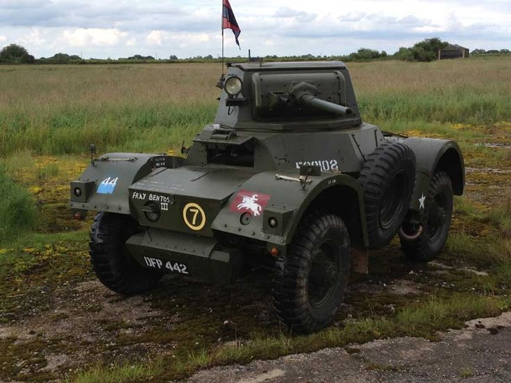 Daimler Armoured car 1943