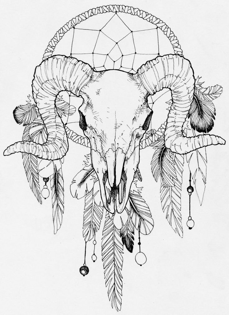 For my zodiac and my fascination with dream catchers. Aries Baby ;)