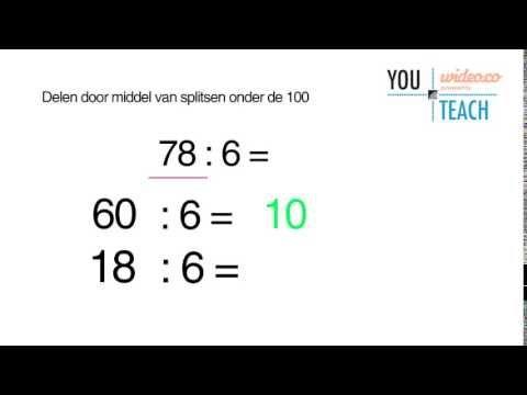 YouTeach delen dmv splitsen onder 100 - by Wideo.co - YouTube