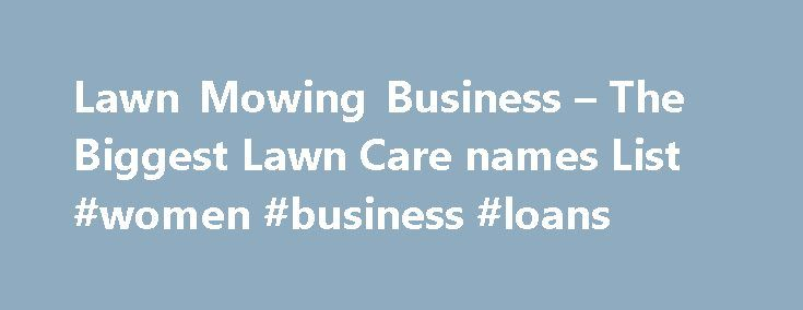 lawn care business names tips and examples