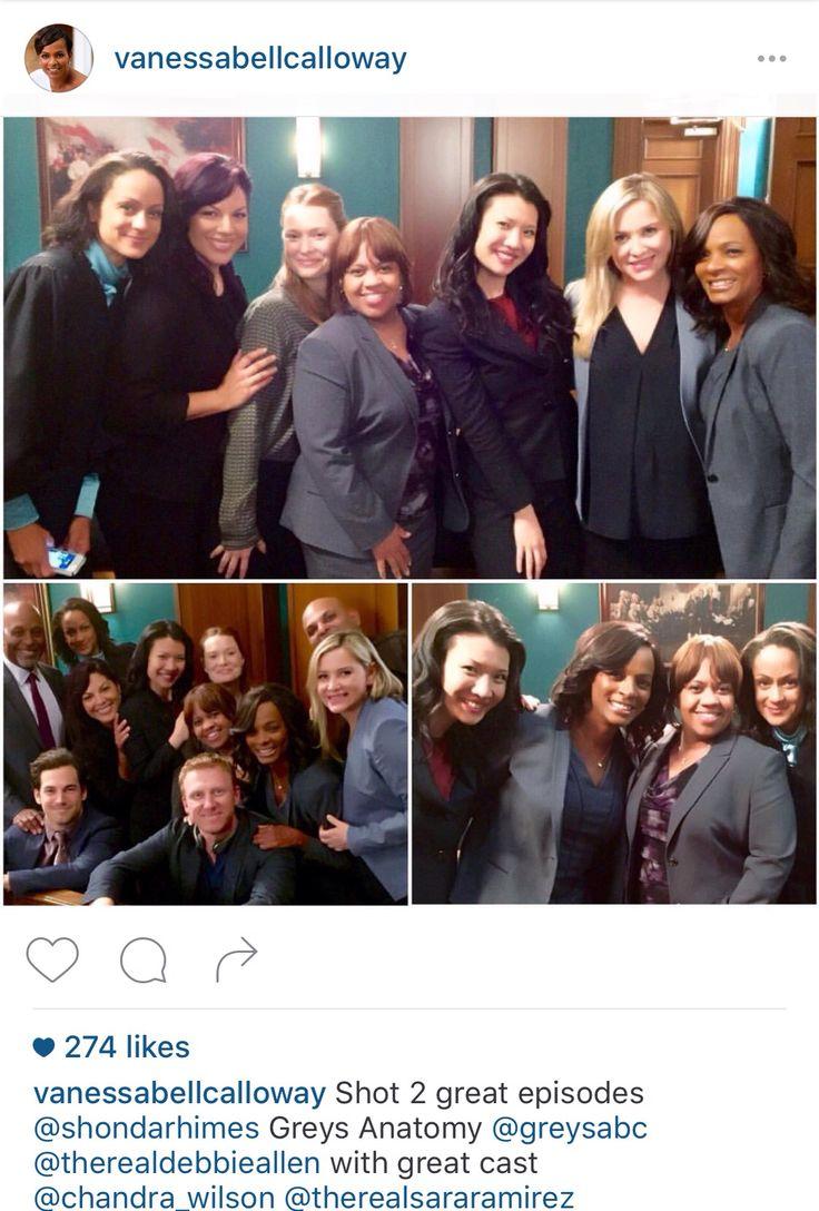 7 best Sara Ramirez and Jessica Capshaw on Set Season 12 ...