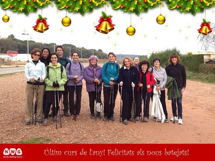 Últim curs de l'any. Quart, Girona. www.nordicwalking-girona.blogspot.com