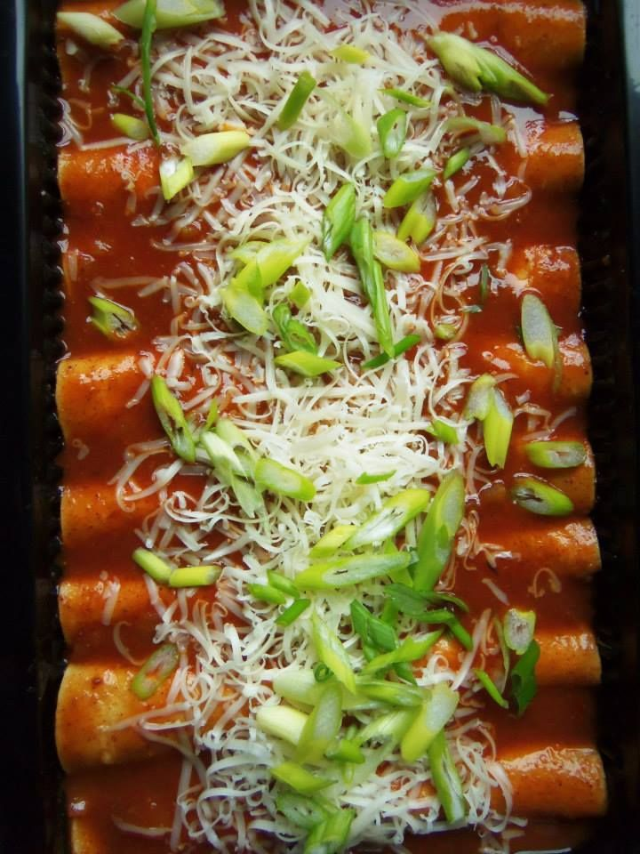 Turkey and Black Bean Enchiladas - Hispanic Kitchen | My Hispanic ...