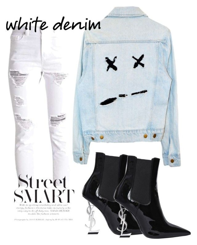 """Street style"" by gurpreet3886 on Polyvore featuring Yves Saint Laurent"