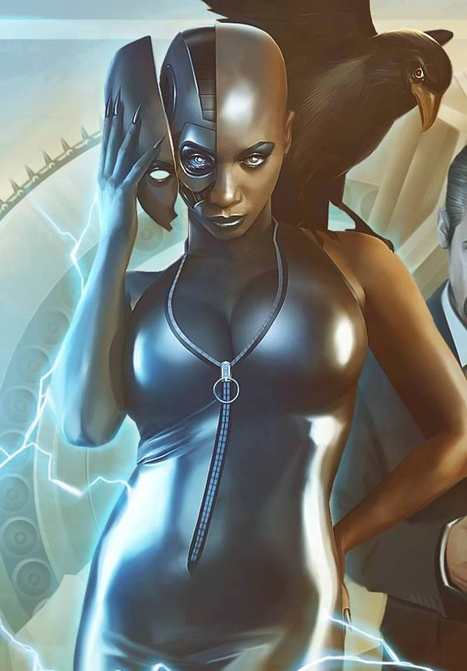 "Blacktastic: A Podcast of Black Scifi and Fantasy Stories! (artwork is Dee-Seven ""Lab Rats"" by Dennis Willman)"