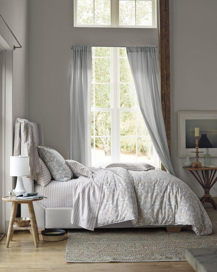 Wyeth Duvet And Metallic Suede Hemp Rug Serenaandlily Master Bedroom Ideas Pinterest