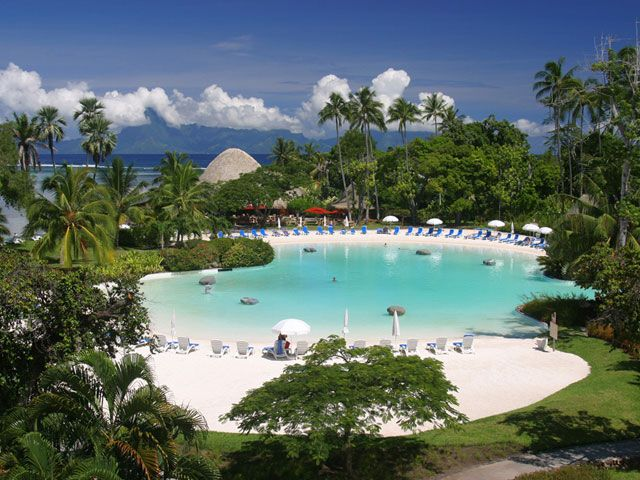 Le Meridien Tahiti, Punaauia, Tahiti, French Polynesia