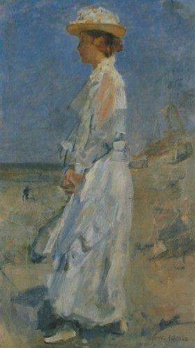 Isaac Israëls - Jonkvrouwe Jacqueline Sandberg (1898)