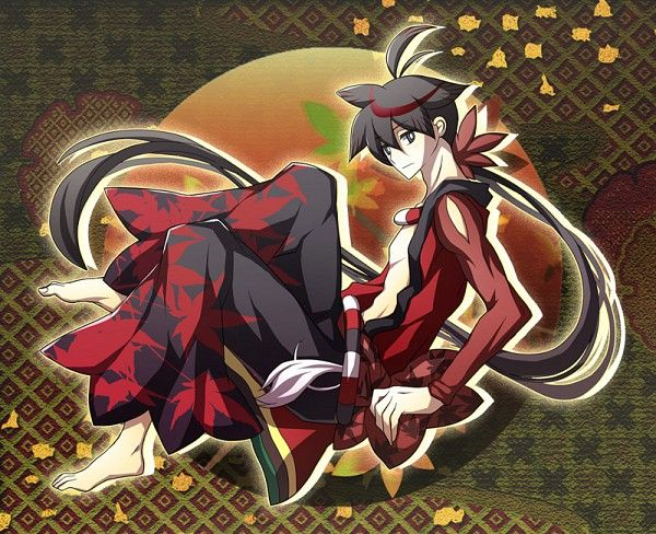 Katanagatari Series Yasuri Shichika Character
