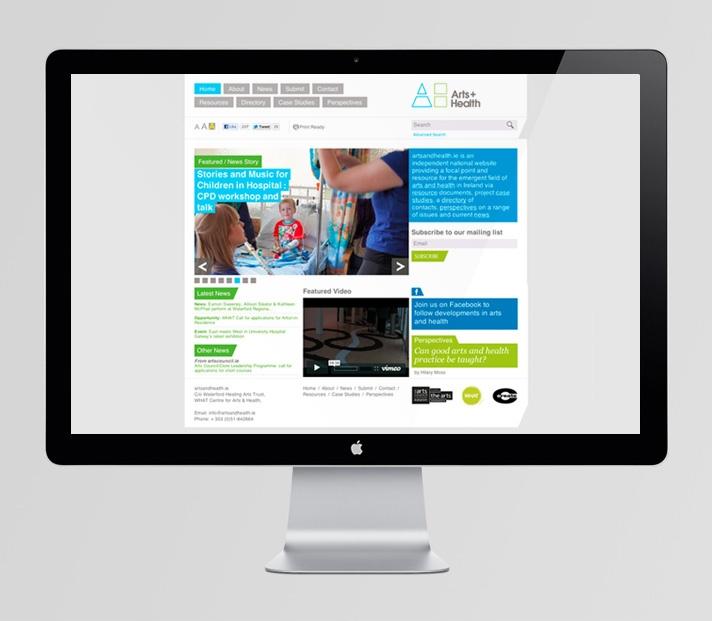 Arts + Health website  http://www.artsandhealth.ie/