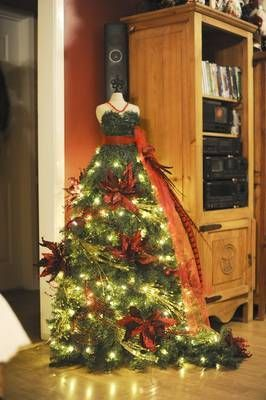 17 Best Images About Dress Form Christmas Trees On