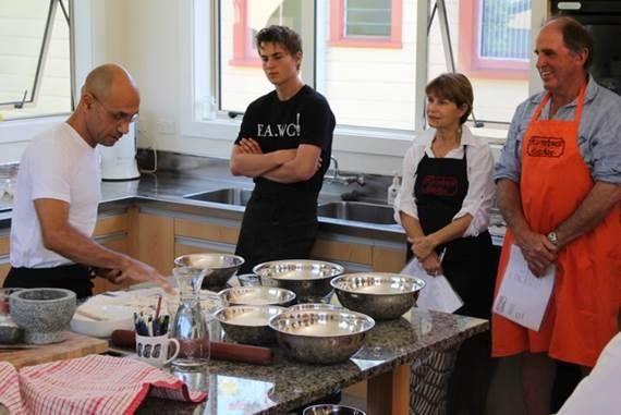 Bread Making Class with Moise Cersan from Ya Bon - Summer 2014