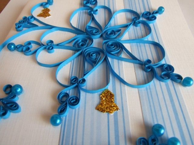 beautiful star quilling