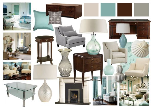 Living Room Mood Boards | Living Room Inspiration
