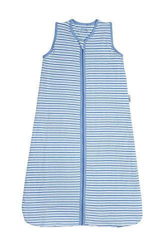 From 17.99:Slumbersac Simply Baby Sleeping Bag Jersey 1 Tog - Blue Stripes 12-36 Months | Shopods.com