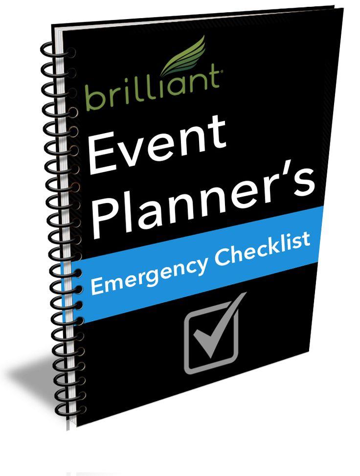 Event Planner's Emergency Checklist   Free Download