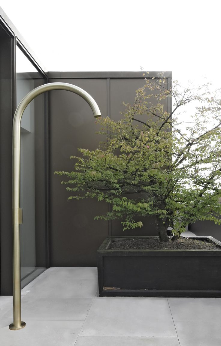 Grace Outdoor Shower by Hans Verstuyft Architecten
