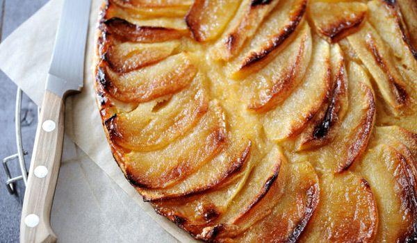 Fine tarte aux pommes (une tuerie)