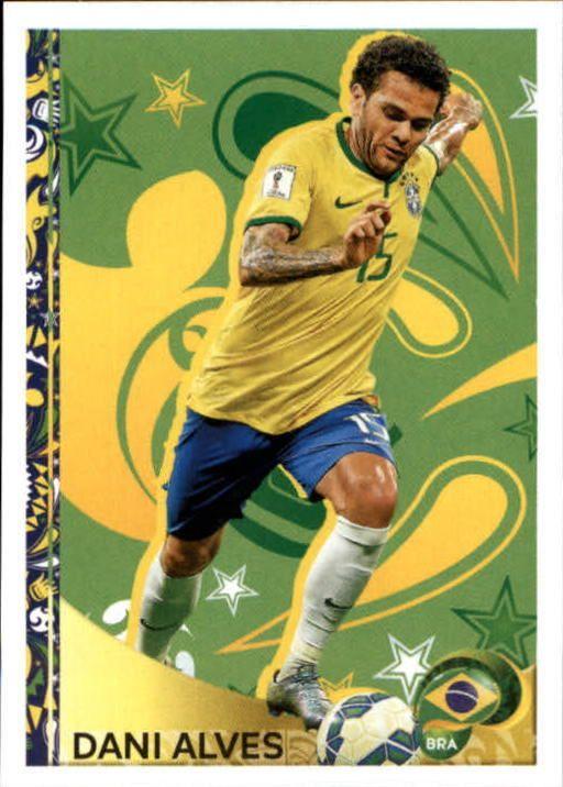 2016 Panini Copa America Centenario Stickers #403 Dani Alves