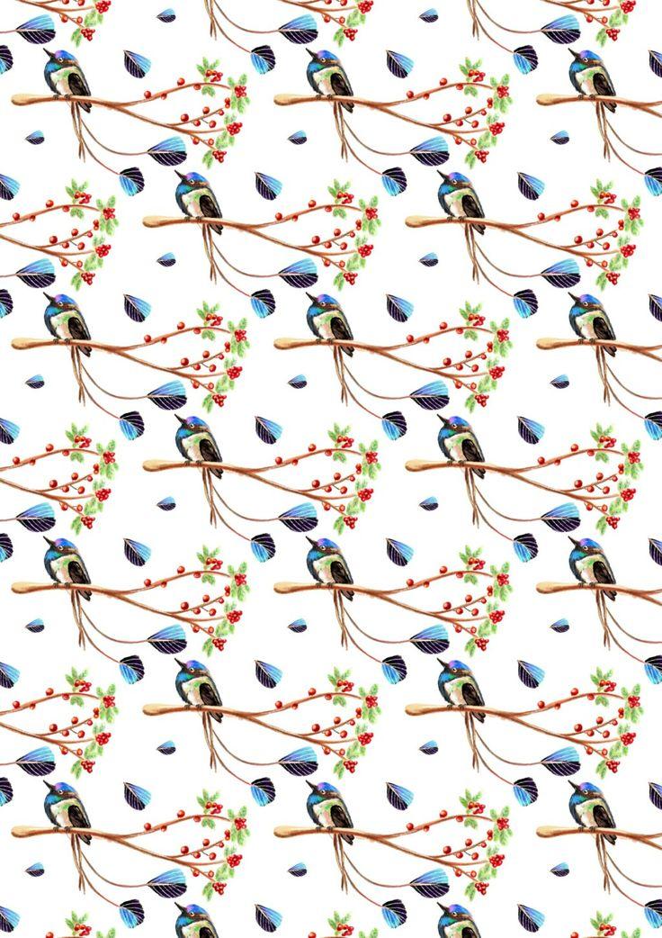 Pattern Kolibri