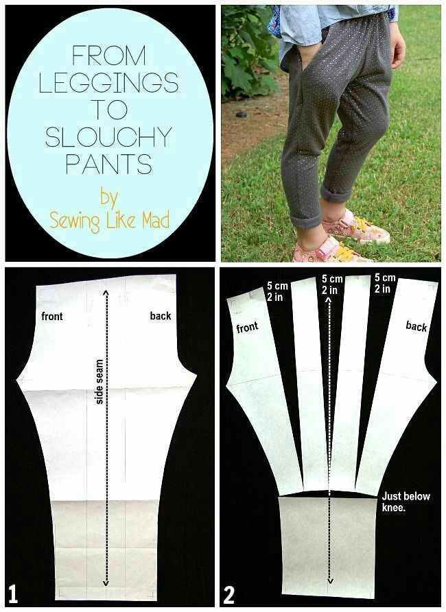 From leggings to slouchy pants