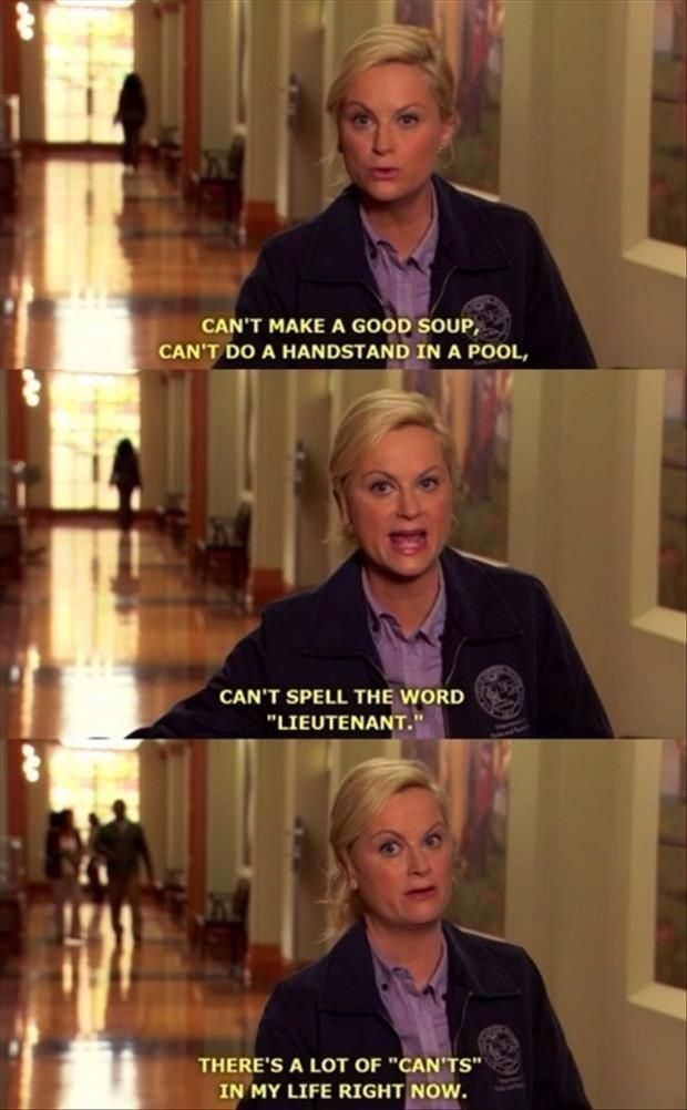Same.... Parks and Rec