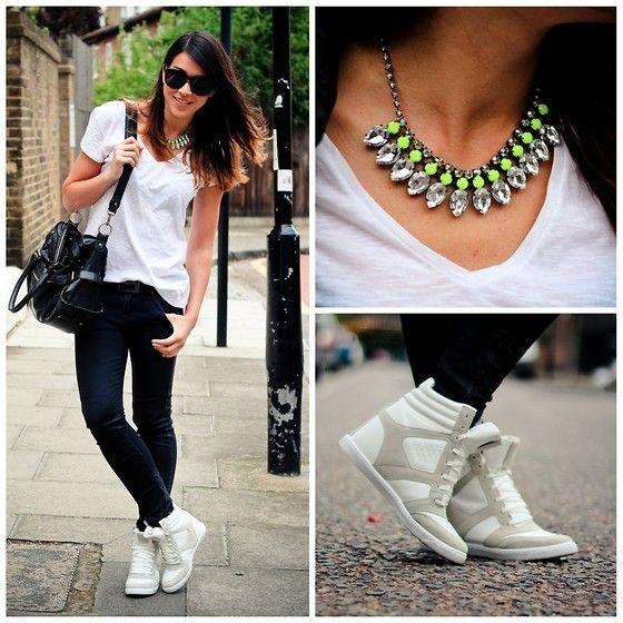 Sneaker style (by Bridg  @ PhoandChips.com) http://lookbook.nu/look/3589747-Sneaker-style
