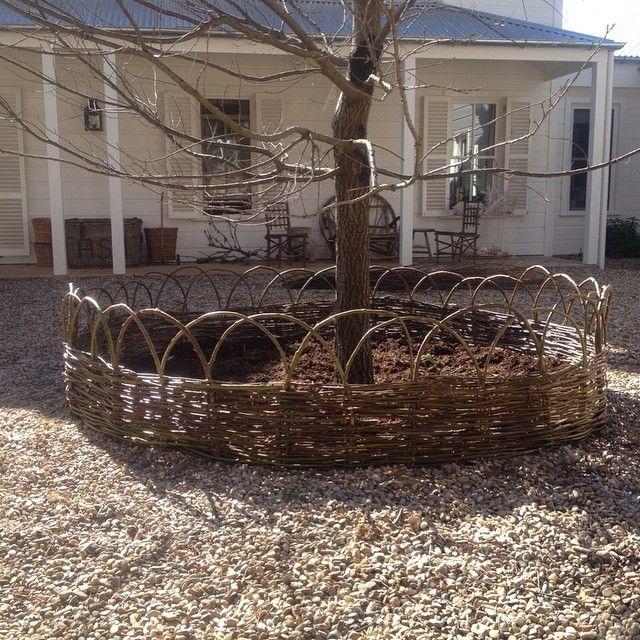 #homemade #Gardenedging #artisan #fence