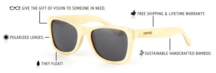 ETHICAL. SUSTAINABLE. HANDCRAFTED. | Panda Sunglasses