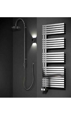 Reina Entice Stainless Steel Bathroom Heated Towel Rail Radiator - Satin