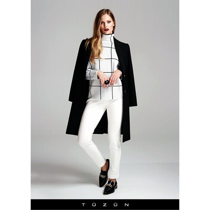 Kış günlerinde beyaz şıklığını tercih edenlerden misiniz? #trend #style #stil #trendy #beyaz #fashion #moda