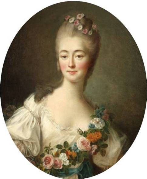 Madame du Barry, favourite of Louis XV, by Drouais