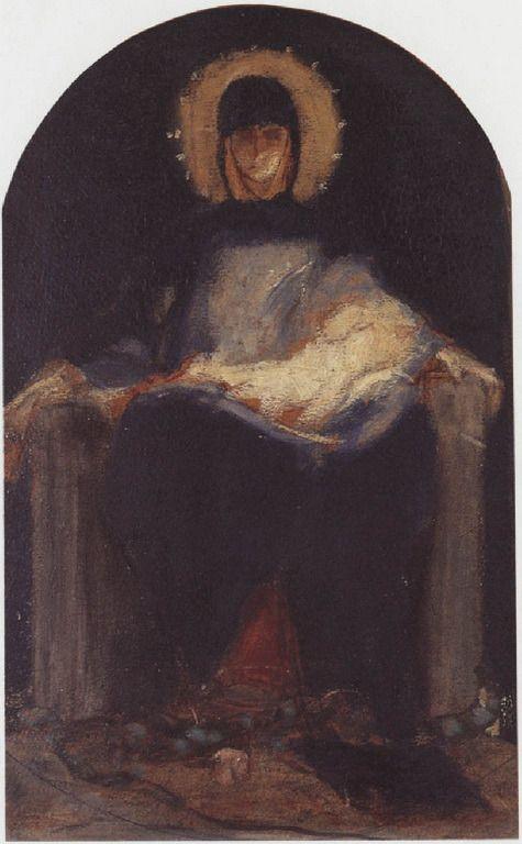 .:. Γύζης Νικόλαος – Gyzis Nikolaos [1842-1901] Παναγία με θείο βρέφος